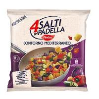 Contorno mediterraneo 4 salti in padella findus gr 500 for Cucinare 4 salti in padella
