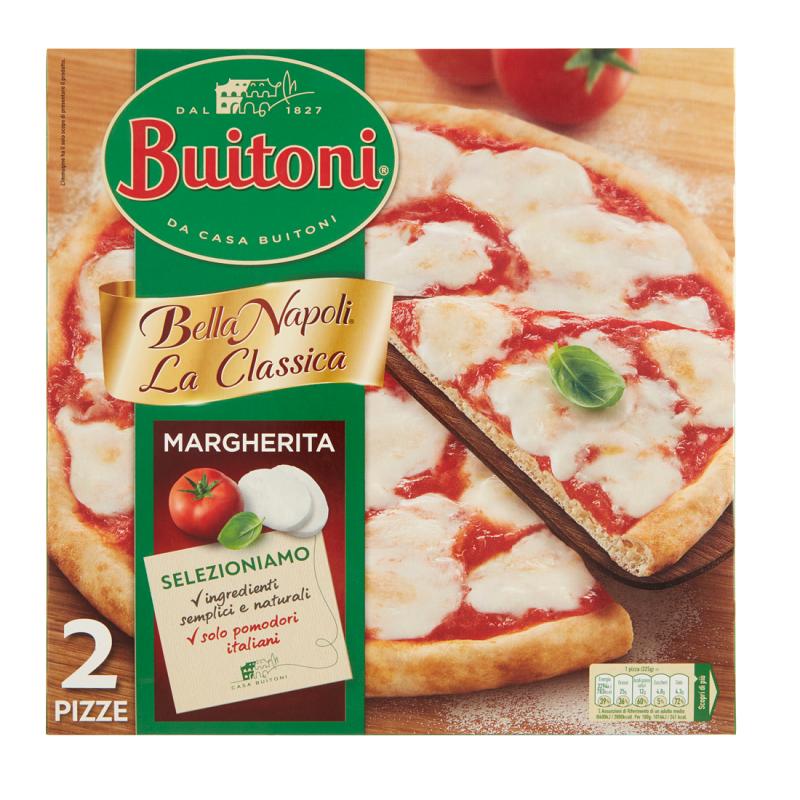 Pizza Margherita Bella Napoli Buitoni 2 Pezzi Gr. 660